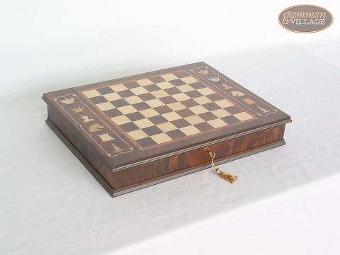 Italian Chess Board with Storage [Large]