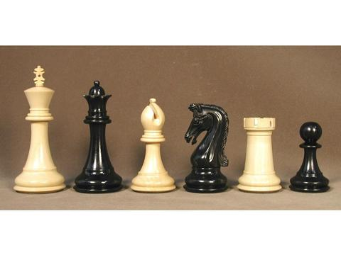Chetak Ebony Wood Chessmen