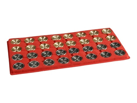 Giant Metal Backgammon Checkers<br>(1 3/4in. Dia.) - Set of 32