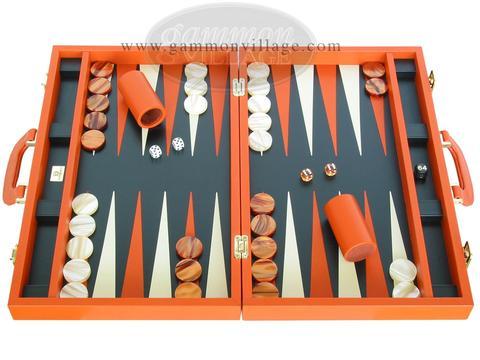 Leather Backgammon Boards & Sets - Free Ship | GammonVillage