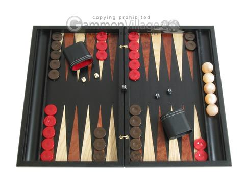 Sensation Backgammon Set with Racks - Model 406
