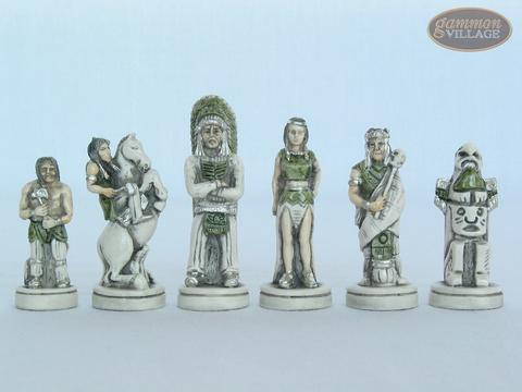 The Wild West Chessmen