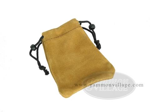 Suede Dice Bag - (4
