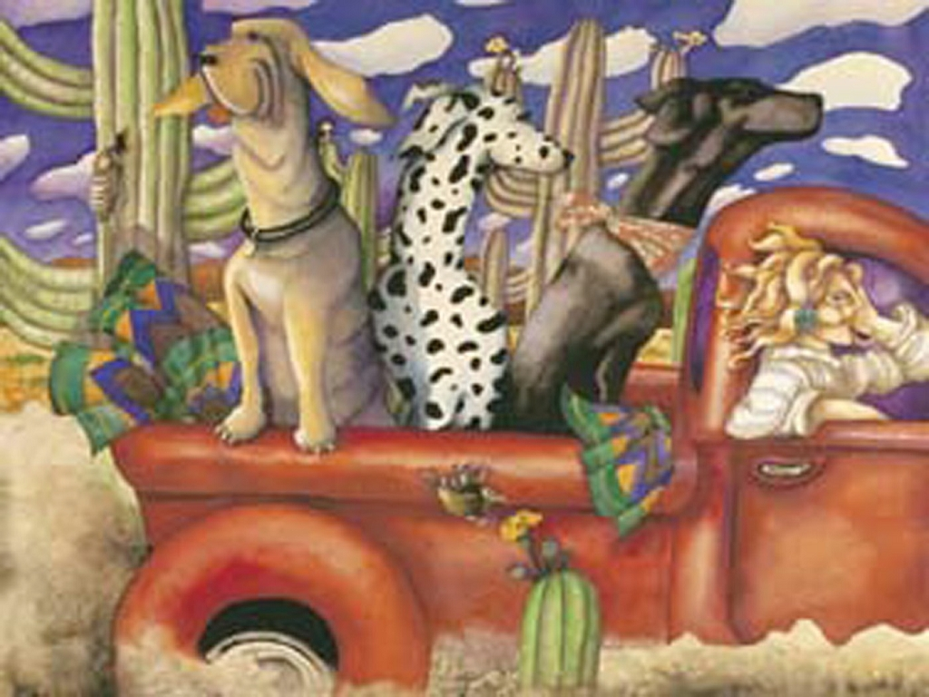 3237 - Going for a Ride 550 Piece Jigsaw Puzzle