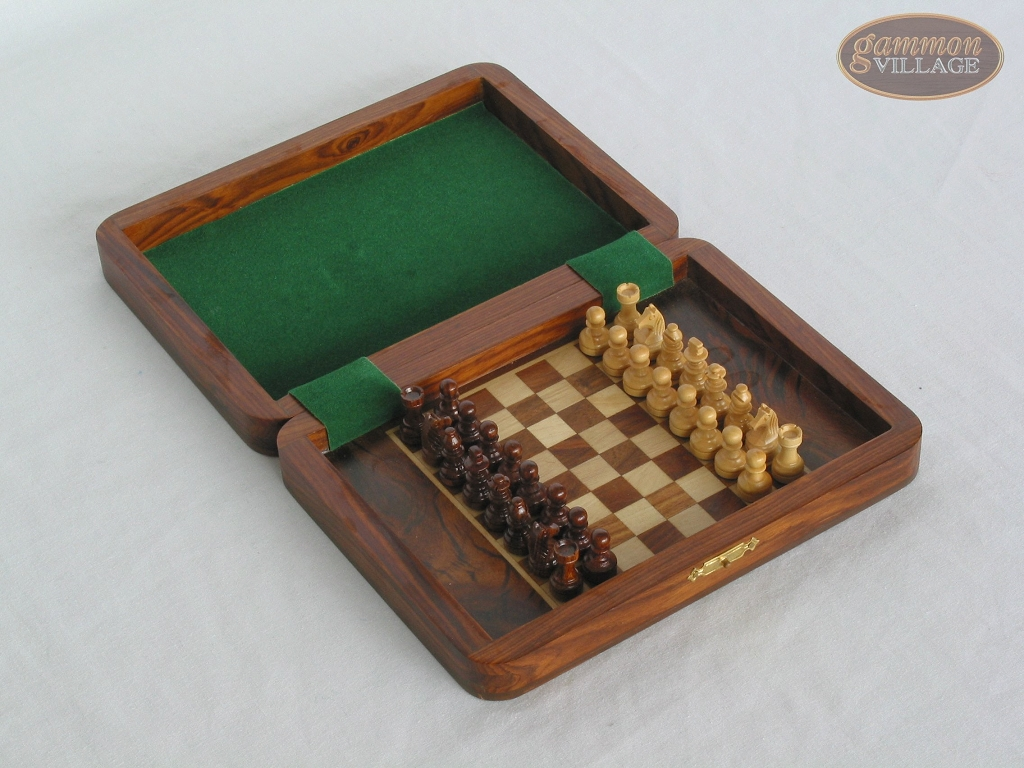 Small Folding Magnetic Chess Set