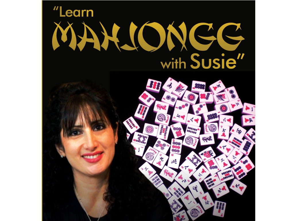 Learn Mahjongg with Susie - DVD