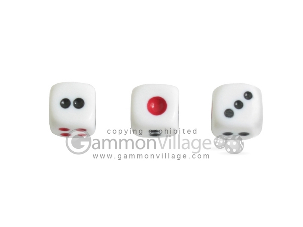 Deluxe Mah Jong Dice - Large - Set of 3