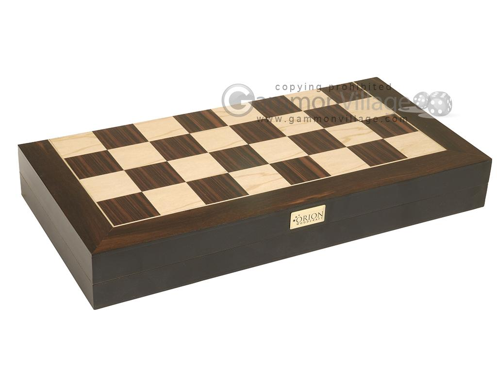 16-inch Combination Backgammon / Chess Set