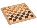 Walnut Checkers Set