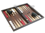 Palisander Backgammon Set with Colored Inlays