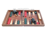 Rosewood Backgammon Set with Racks & Slotted Checkers