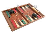 Carved Rosewood Backgammon Set with Racks