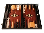 Black Backgammon Set - Large - Red Field