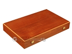 Mahogany Backgammon Set - Large - Red