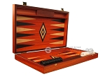 Padauk Backgammon Set - Large - Padauk Field