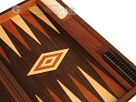 Wenge Backgammon Set - Large - Wenge Field