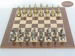 The Aristocratic Chessmen with Spanish Lacquered Chess Board [Wood]
