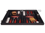 Argento Backgammon Set - Large - Black Field