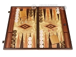 Olive Root Backgammon Set - Large - Olive Root Field