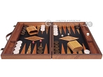 Laurel Backgammon Set - Large - Black Field