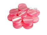 Backgammon Checkers - Pearled Acrylic - Pink (1 1/2 in. Dia.) - Roll of 15