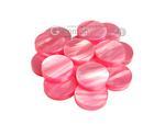 Backgammon Checkers - Pearled Acrylic - Pink (1 5/16 in. Dia.) - Roll of 15