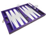 13-inch Premium Backgammon Set - Purple