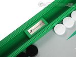16-inch Premium Backgammon Set - Green