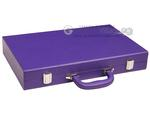 16-inch Premium Backgammon Set - Purple