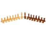 29-9132 - Round Chess / Checkers / Backgammon Table [31 1/2in.] - Made in USA