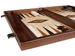 15-inch Lupo Root Backgammon Set - Lupo Field
