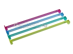 Mah Jong Pushers -- Acrylic - Colored Clear - Set of 4
