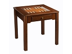 29-9032 - Chess / Checkers / Backgammon Table [31 1/2in.] - Made in USA