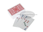 Plastic Mah Jong Playing Cards