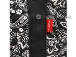 Empty Soft-Sided Mah Jongg Case by Linda Li™ (fits modern pushers) - Black Paisley
