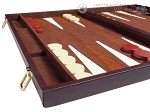 21-inch Tournament Backgammon Set - Brown
