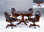 Warrington Game Table Set (Table + 4 chairs)