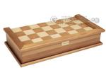 16-inch Combination Backgammon / Chess Set - Burlwood